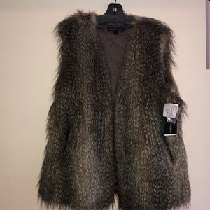 Via Spiga Faux fur vest from Via Spiga